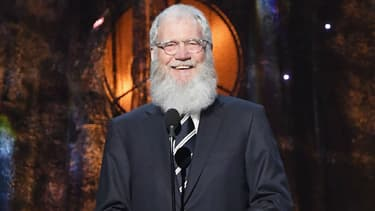 David Letterman au Barclays Center à New York en 2017