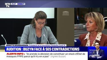 """Brigitte Bourguignon sur les masques: """"Malgré un volontarisme politique, on se demande si l'administratif ne pêche pas"""""""
