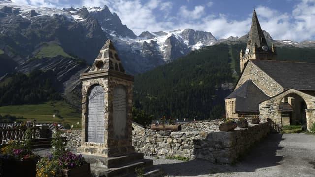 Une église dans le département des Hautes-Alpes, en France. (photo d'illustration)