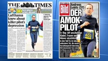 Andreas Lubitz occupe la Une de la presse nationale et internationale, ce vendredi 27 mars.