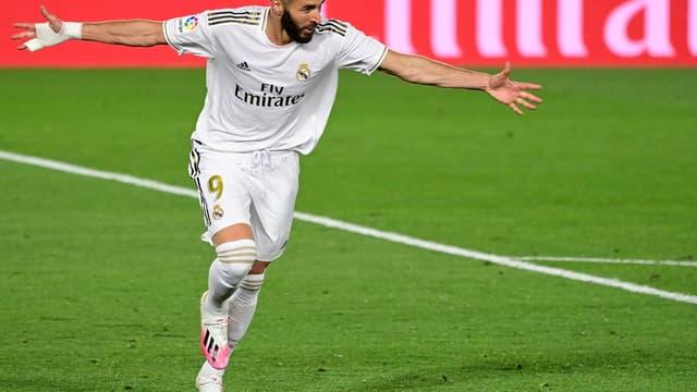 Benzema pendant Real-Valence