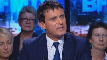 Manuel Valls sur BFM Politique