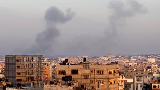 A Rafah, dans le sud de la bande de Gaza, le 31 juillet 2014.