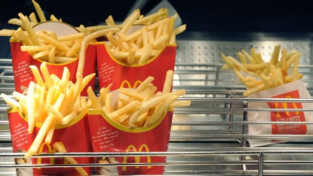 Une vidéo dévoile le secret de fabrication des frites McDonald's.