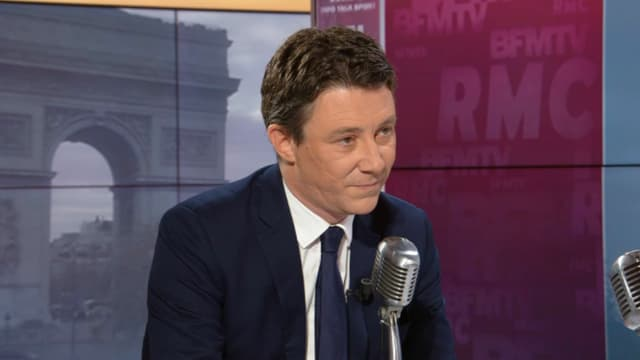 """""""Je veux améliorer la transition du deux-roues thermique vers le deux-roues électrique"""", a déclaré Benjamin Griveaux au micro de Jean-Jacques Bourdin sur RMC et BFM TV."""