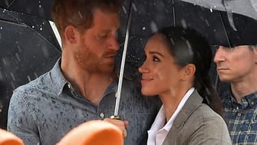 Le prince Harry et Meghan Markle, le 17 octobre en Australie
