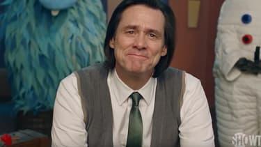"""Jim Carey dans la série de Michel Gondry """"Kidding""""."""