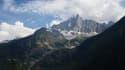 Dans le massif du Mont-Blanc, à Chamonix, en août 2018.