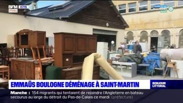 Emmaüs Boulogne déménage à Saint-Martin