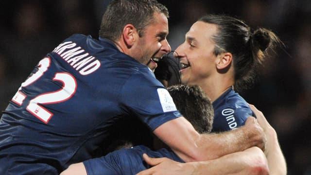 Sylvain Armand et Zlatan Ibrahimovic en mai 2013