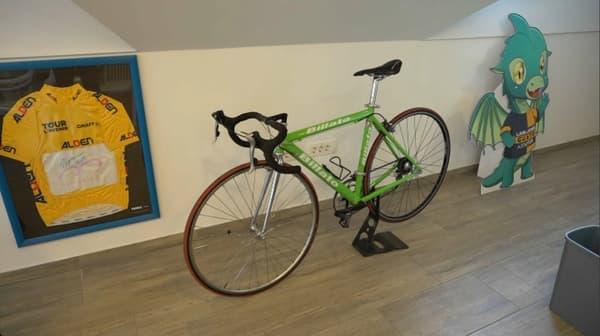 Le premier vélo de Pogacar