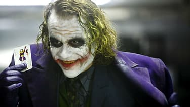 "Heath Ledger a incarné le Joker dans ""The Dark Knight, le Chevalier Noir"" en 2008"