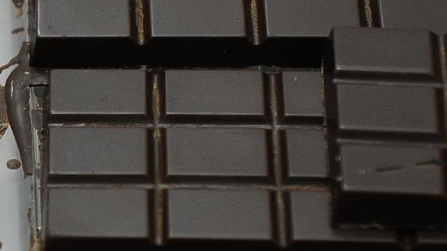 Tablettes de chocolat équatorien, en mars 2014.