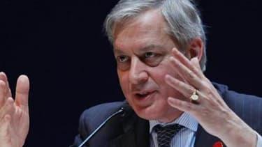 """Christian Noyer, le gouverneur de la Banque de France, a estimé que la France n'était """"pas dans l'austérité"""", mercredi 10 avril."""