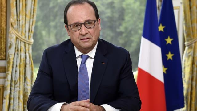 """""""Si je pensais à l'élection présidentielle aujourd'hui, franchement je serais à côté du sujet"""", a lancé François Hollande mardi."""