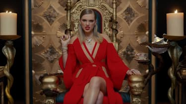 "Taylor Swift dans le clip de ""Look What You Made Me Do"""