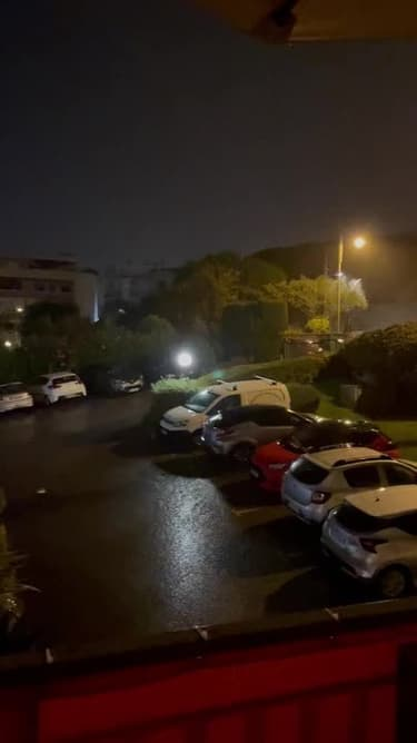 Nice déluge cette nuit - Témoins BFMTV