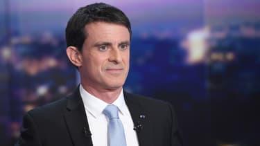 Manuel Valls, candidat à la primaire à gauche.