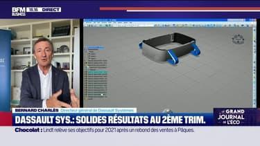 Bernard Charlès (Dassault Systèmes) : Solides résultats au 2ème trimestre pour Dassault Systèmes - 27/07