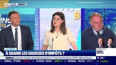 Le débat: A quand les hausses d'impôts ?, par Jean-Marc Daniel et Stéphane Pedrazzi - 29/04