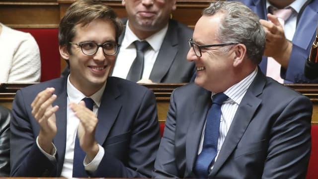 Pacôme Rupin et Richard Ferrand