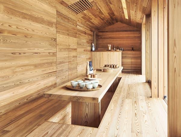 Le futur bâtiment, tout en bois, aura un espace collectif ouvert aux touristes et aux habitants, avec des chambres à louer pour les clients de Airbnb.