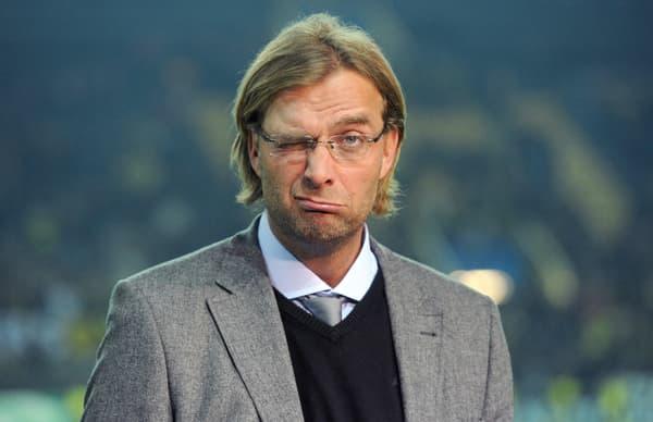 Jürgen Klopp dans l'exercice de la grimace en 2011