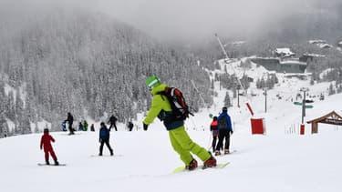 Des skieurs à Courchevel le 11 novembre dernier