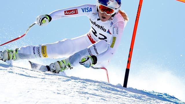 Lindsey Vonn en action