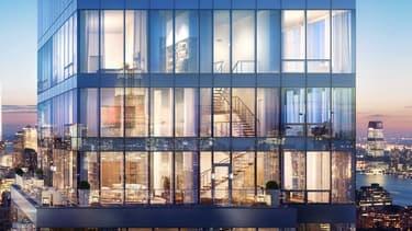Le triplex du magnat de la presse se trouve en haut de la tour de 60 étages One Madison