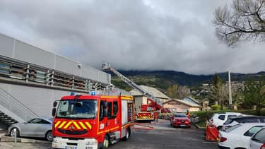 Une trentaine de personnes évacuées après un incendie dans un supermarché à Embrun, dans les Hautes-Alpes