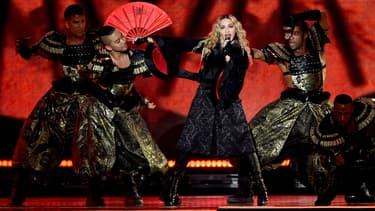 """Madonna en concert pour son """"Rebel Heart Tour"""""""