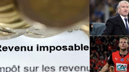 Déclaration des revenus sur Internet, Didier Deschamps sur BFMTV et Rennes en finale de Coupe de France