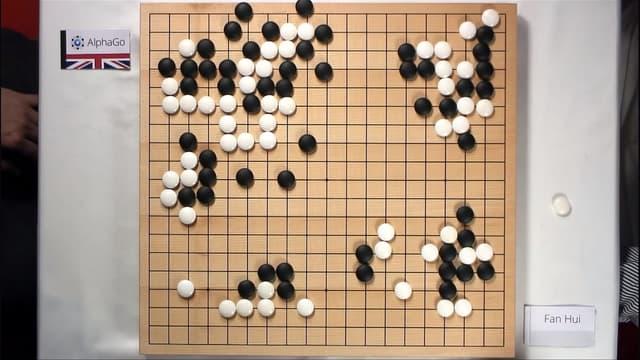 L'intelligence artificielle AlphaGo a battu le champion d'Europe de jeu de Go au mois d'octobre 2015.