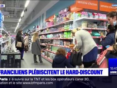 Les Franciliens plébiscitent le hard-discount