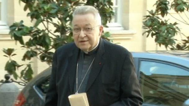 Monseigneur André Vingt-Trois, archevêque de Paris.