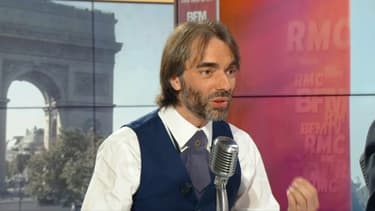 Cédric Villani sur BFMTV ce jeudi.