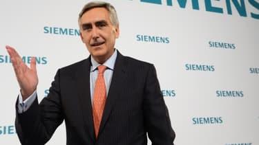 Peter Lörscher a passé six ans à la tête de Siemens.