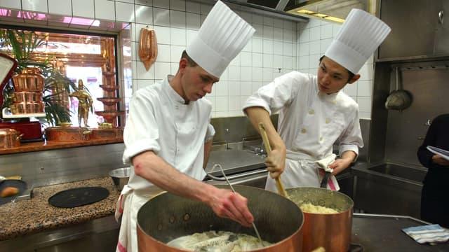 Les quatre groupe ont lancé un projet de CFA dans le secteur de la cuisine et la restauration