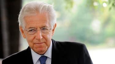 Mario Monti avertit l'Allemagne sur le risque inflationniste des spreads élevés
