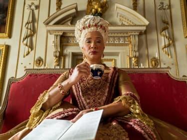 """La reine Charlotte dans la série """"Bridgerton"""""""