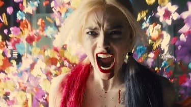 """Margot Robbie dans """"Suicide Squad"""" de James Gunn."""