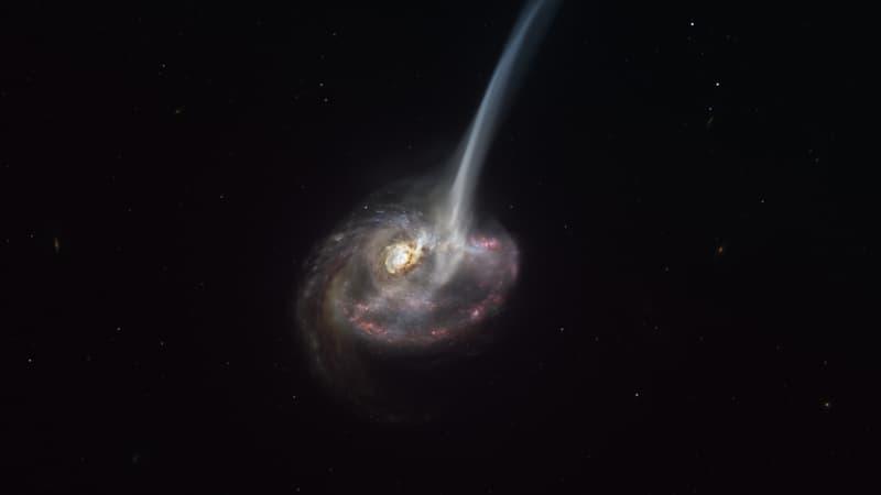 """Des astronomes observent pour la première fois une galaxie lointaine en train de """"mourir"""""""