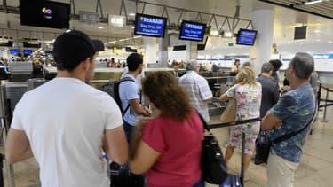 L'aéroport de Bruxelles ( image d'illustration)
