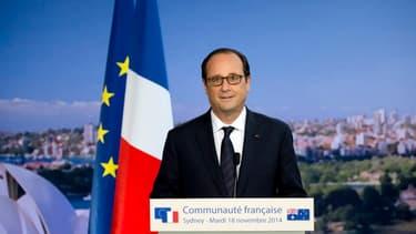 François Hollande a débuté une visite officielle de deux jours en Australie, une première pour un chef d'Etat français.