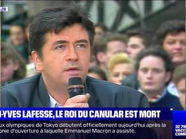 Jean-Yves Lafesse, le roi du canular, est mort à l'âge de 64 ans