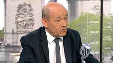Jean-Yves Le Drian, le ministre de la Défense
