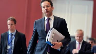 Jeroen Dijsselbloem, le président de l'Eurogroupe.