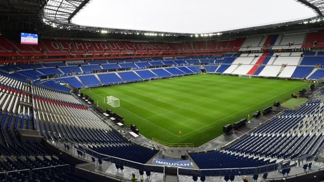 """Le stade de l'OL s'appelle désormais le """"Groupama Stadium""""."""