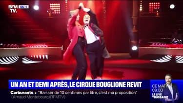 Le cirque Bouglione se remet en piste après plus d'un an d'arrêt